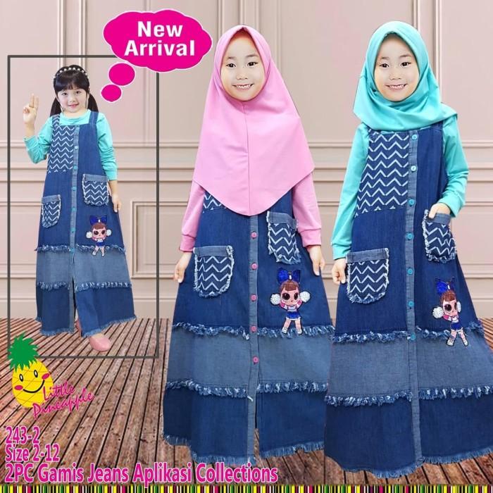 Jual Little Pineapple Baju Muslim Anak Gamis Anak Lol Led Bisa Menyala 243 Kota Semarang Zidanzone Baby Kids Tokopedia