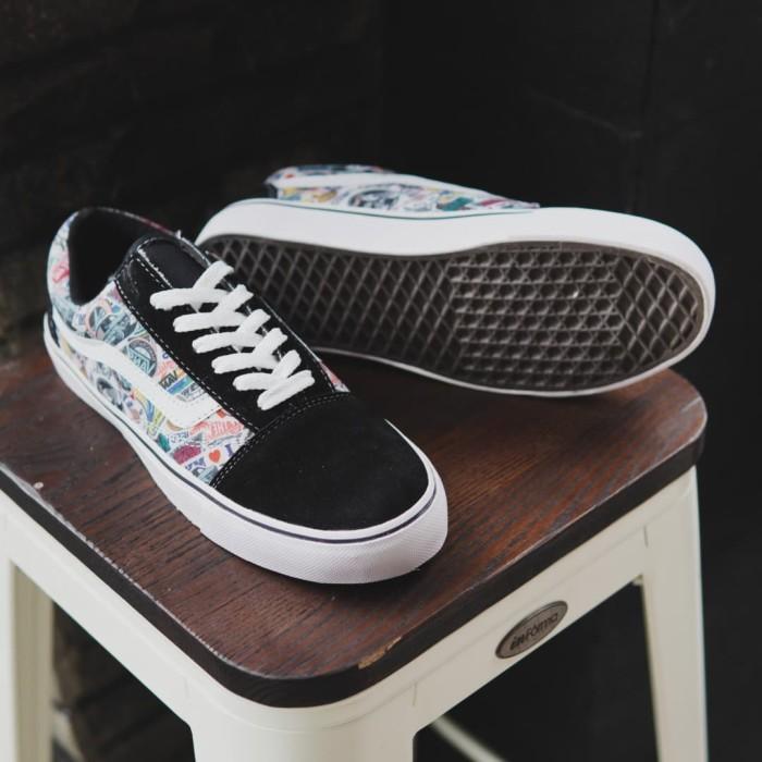 Foto Produk Sepatu Pria Vans Oldskool Varian Logo Sneakers Murah Original dari Toko Sepatu Atang