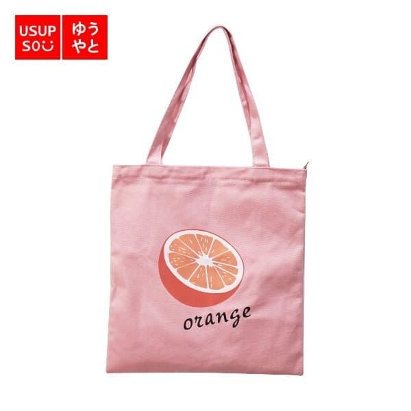 Foto Produk Orange Tote Bag - Pink / Tote Bag dari USS Indonesia