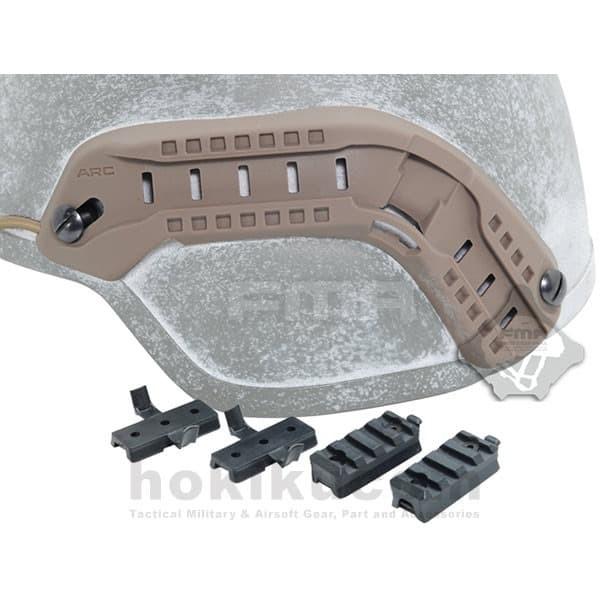 Foto Produk Rel Helm Tactical FMA MICH ARC Helmet Rail Guide Mount - Brown Coklat dari Hokikucom