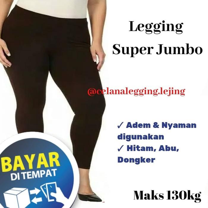 Jual Celana Legging Wanita Super Jumbo Leging Jumbo Legging Bigsize Kab Bogor Baju Manset Atasan Tokopedia