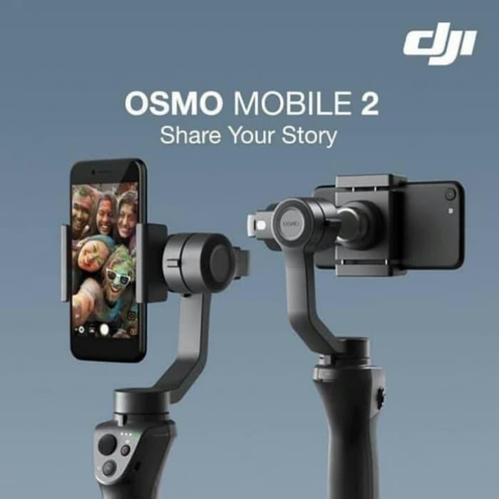 Jual Dji Osmo Mobile 2 Gimbal Stabilizer For Smartphone Video Vlog Jakarta Barat Gadventia Official Store Tokopedia