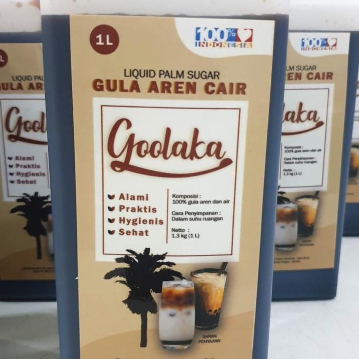 Foto Produk Gula aren cair asli 1Lt / Superior Brown Sugar Aren / readystok dari bakingmart jakarta