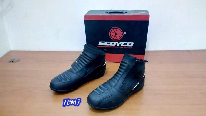 Jual Sepatu Touring Motor Scoyco Mbt 002 Grab It Fast Kota Depok
