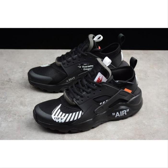 guitarra Generalmente hablando La risa  Jual Off White x Nike Air Huarache Ultra ID black out men women sport shoe  - Kab. Dairi - ShanghaiLuckEmpressAbadi | Tokopedia