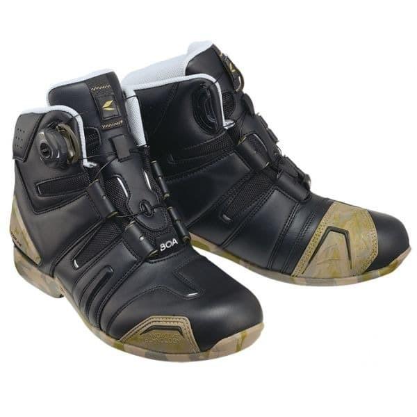Foto Produk RS TAICHI RSS006 DRYMASTER Original Sepatu Touring Motor- Black Camo - 42 dari Helm Cargloss