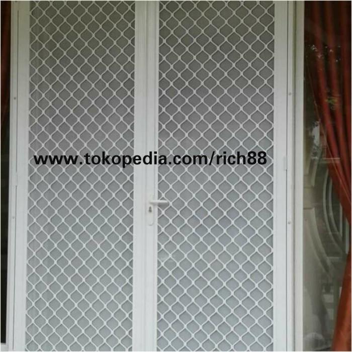 Jual Pintu Expanda Kawat Nyamuk Alumunium 90 X 200 Super Premium