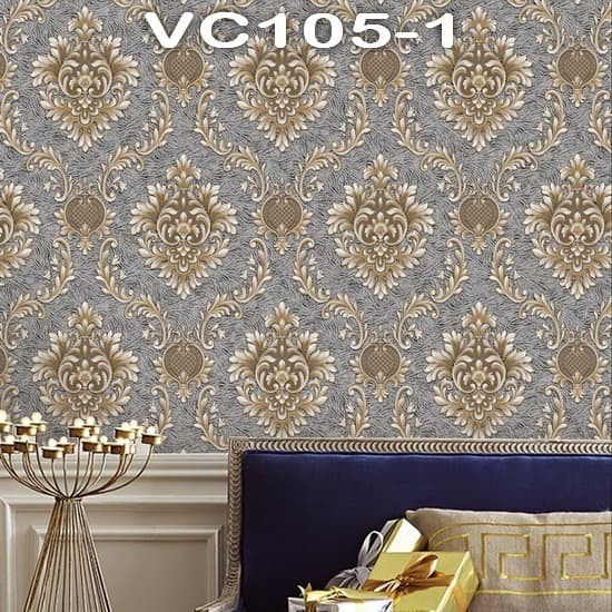Jual Wallpaper Dinding Classic VICTORY VC105-1 - VC105-5 - Jakarta Pusat - Maju Interior | Tokopedia