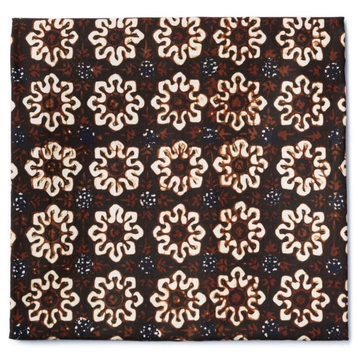 Foto Produk Kain Batik Cap Sogan Jogja Motif Ceplok Grompol dari Kainusa