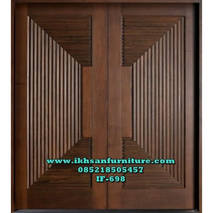 Jual Desain Pintu Rumah Minimalis Model Daun Pintu Rumah Minimalis Kab Jepara Ikhsan Furniture Tokopedia