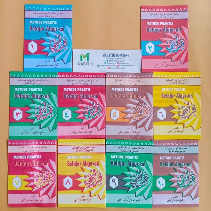 Foto Produk Buku Qiro'ati 10 Jilid: Metode Praktis Belajar Al-Quran Qiroati Qur'an dari Toko Buku Mafatih