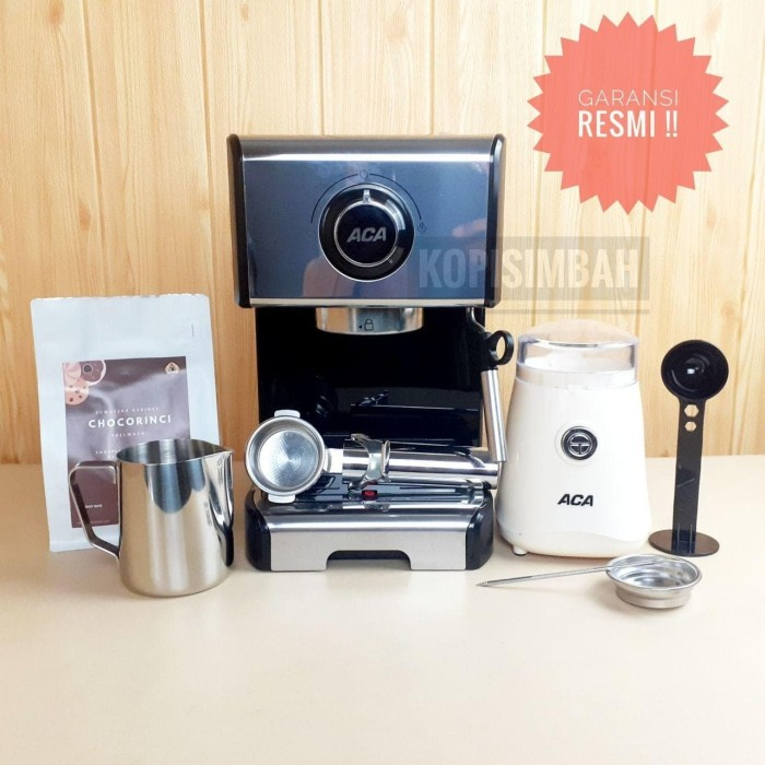 Jual Espresso Maker ACA Mesin Kopi Cappuccino Latte Art