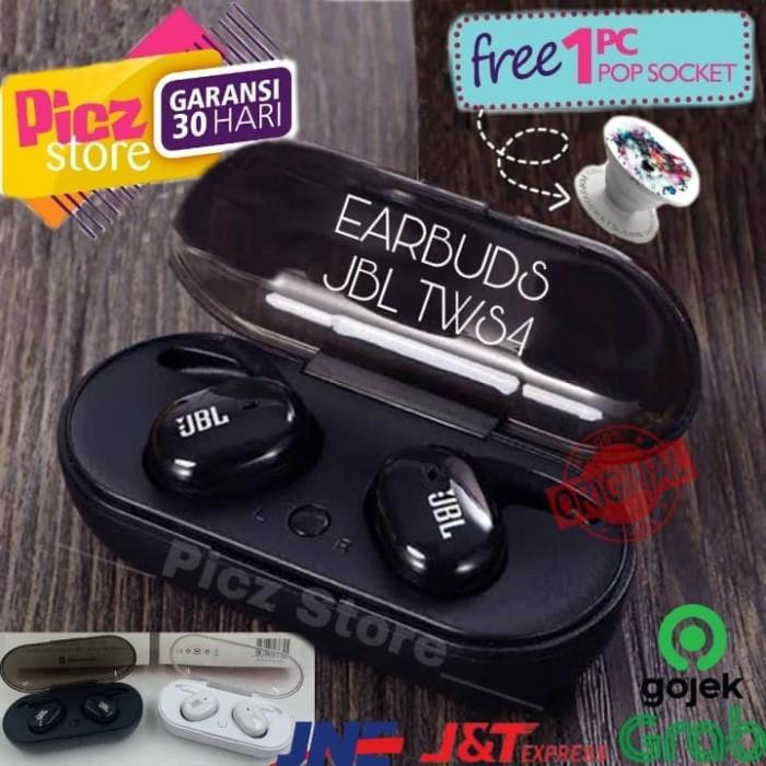 Jual Jbl Tws 4 Original Headset Bluetooth Jbl Manual Harga Murah Jakarta Barat Picz Store Tokopedia