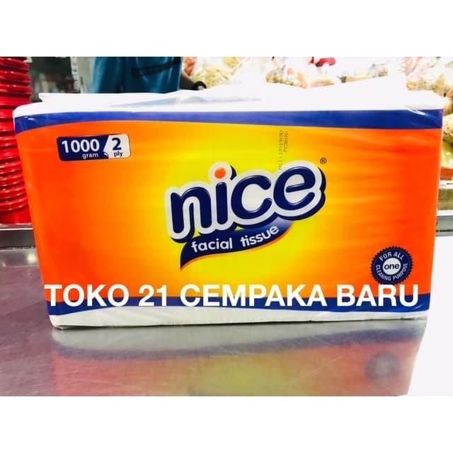 Jual Nice Facial Tissue 1000 GRAM Tisu Tisue Nice 1000g
