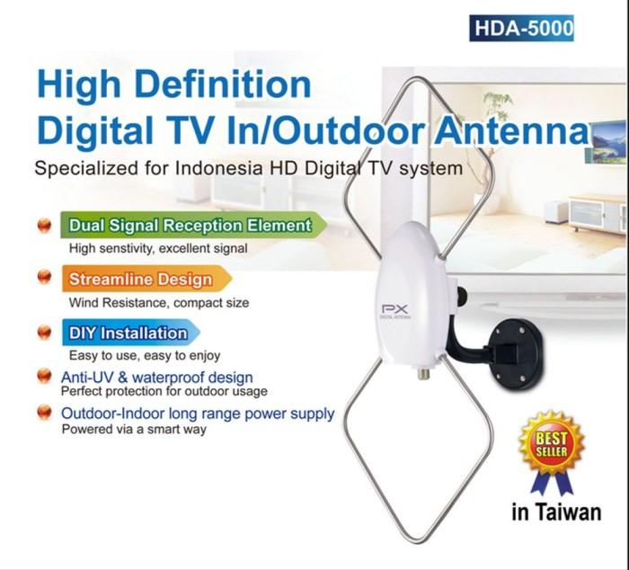 Jual Antena Tv Indoor Outdoor Px Hda 5000 Digital Kota Surabaya Afib Shop Tokopedia