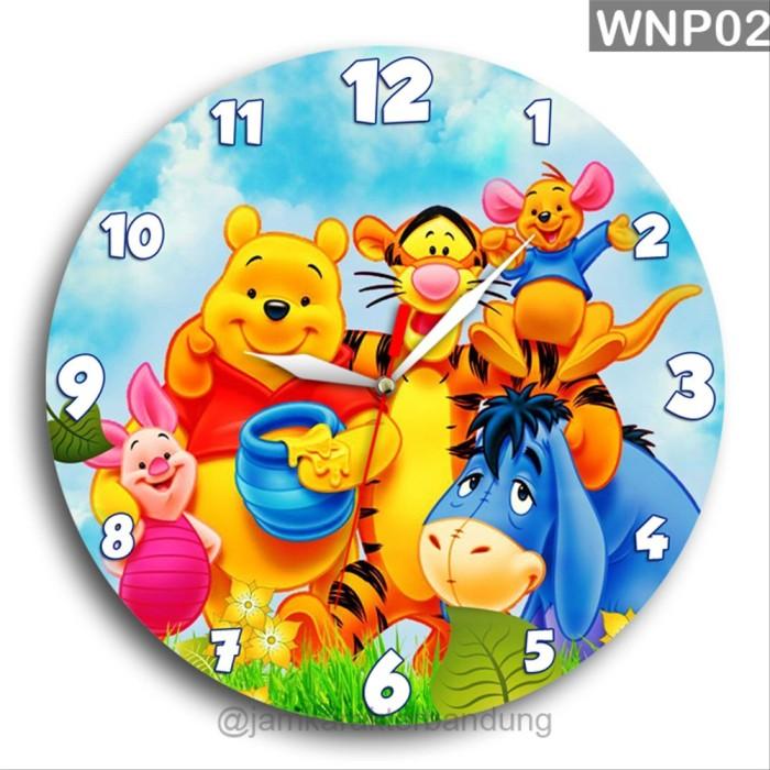 Jual Jam Dinding Winnie The Pooh Kartun Lucu Imut Kayu Unik Wnp02 Kab Bandung Barat Jam Karakter Bandung Tokopedia