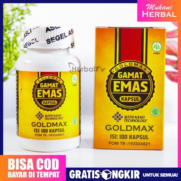 Foto Produk Walatra Gamat Emas Kapsul Asli Original Bukan QnC Jelly Gamat Gold G dari Muhani Herbal