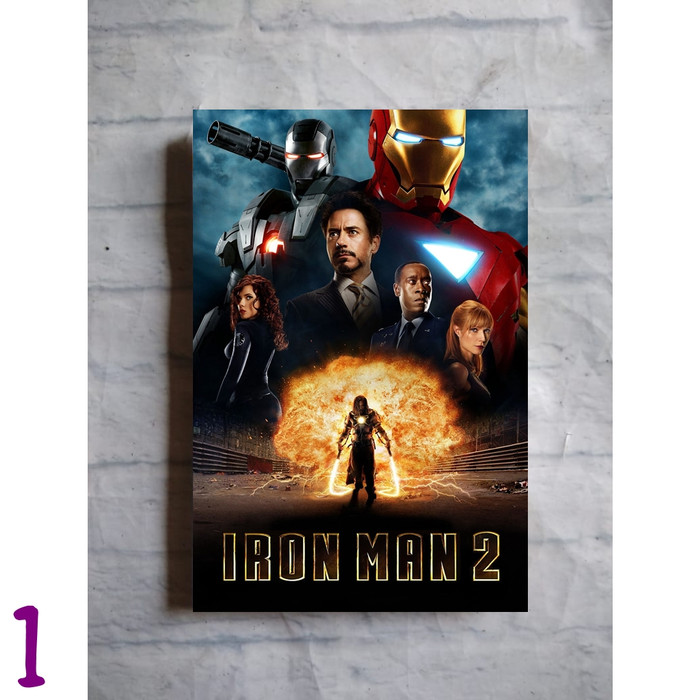 Jual Poster Film Ironman Iron Man 2 2010 Marvel Tony Stark Hiasan Dinding Gambar 1 Kab Purbalingga Replica Toys Diecast Tokopedia