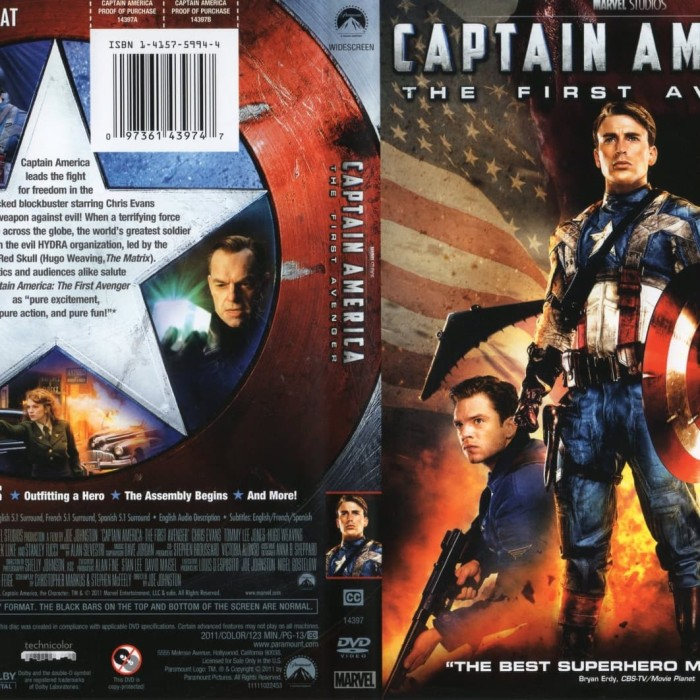 Jual Film Dvd Captain America The First Avenger 2011 Movie Collection Film Jakarta Barat M Collector Tokopedia