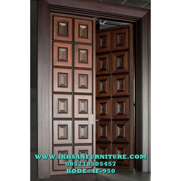 Jual Model Pintu Rumah Minimalis Profilan 3d Model Pintu Kuputarung Kab Jepara Ikhsan Furniture Tokopedia