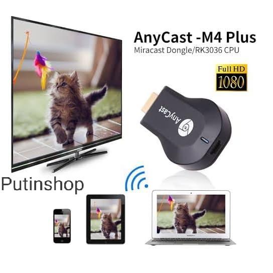 Foto Produk Anycast M4 Plus HDMI Dongle USB Wireless_HDMI Dongle Anycast M4 Plus dari Putinshop