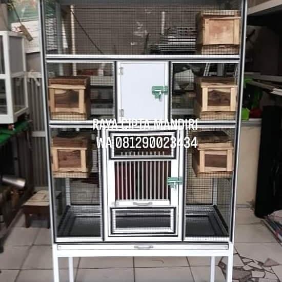 Jual Kandang Ternak Burung Lovebird Aluminium Kota Depok Raya Cipta Mandiri Tokopedia