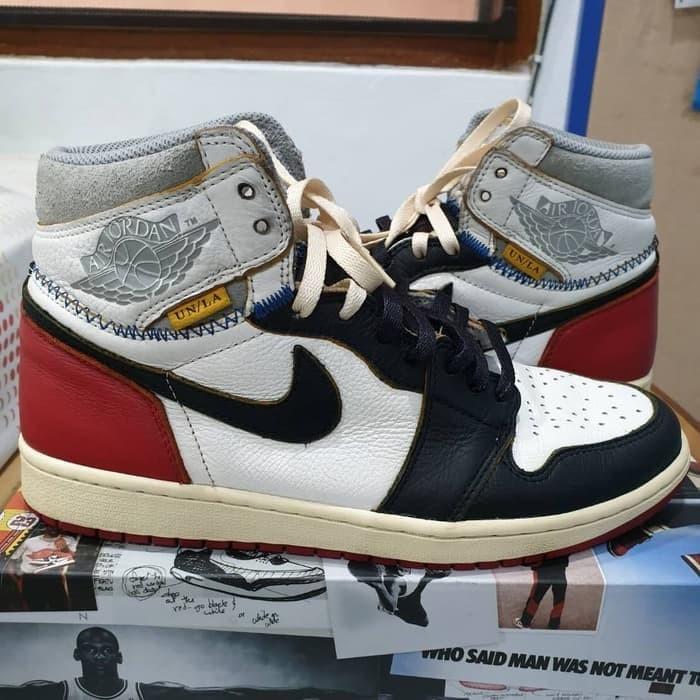 Nike Air Jordan 1 Union LA Black Toe