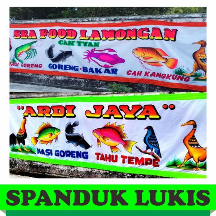 Contoh Desain Spanduk Seafood - gambar spanduk
