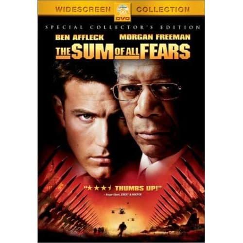 Jual Dvd Film The Sum Of All Fears 2002 Kab Karawang Dvd Movie Update Tokopedia