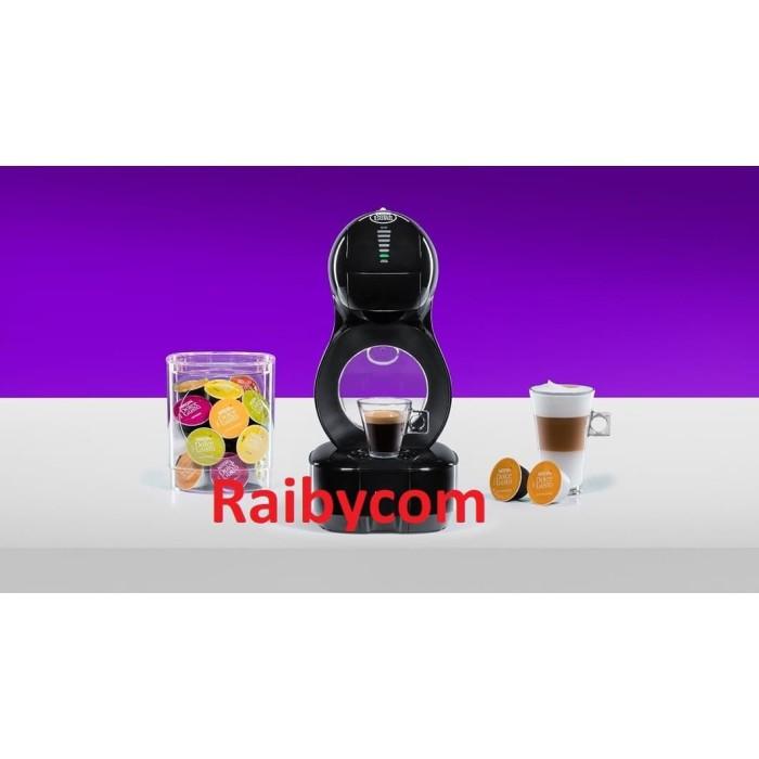 Foto Produk Coffee Maker Nescafe Dolce Gusto Capsule Lumio Black Garansi Resmi 2th dari Raibycom