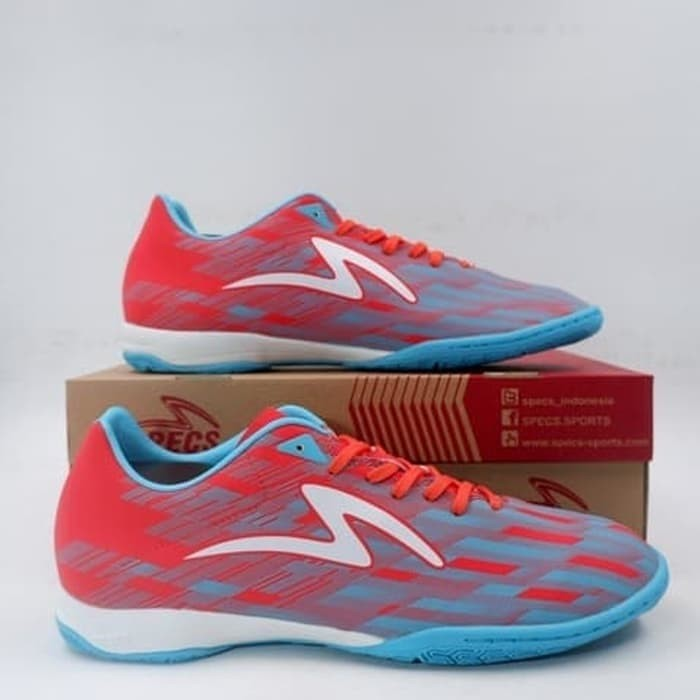 Jual Sepatu Futsal Specs Accelerator Lightspeed Ii Pro Flame Blue