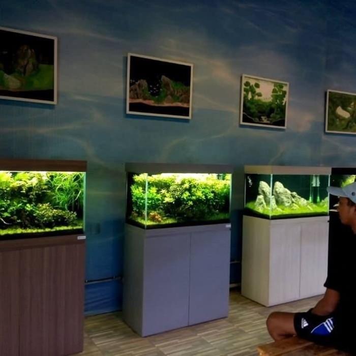 Jual Aquarium Cabinet Meja Minimalis Modern Aquascape Betterhopes Kota Bandung Better Hopes Tokopedia