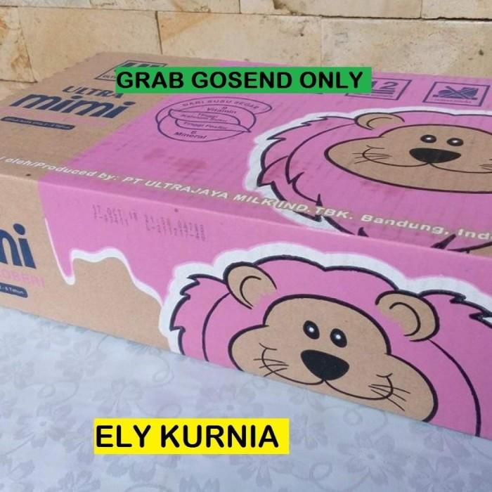 Foto Produk Susu UHT Ultra Mimi Stroberi 125 Ml 1 Karton / Ultra Mimi Strawberry dari Ely Kurnia