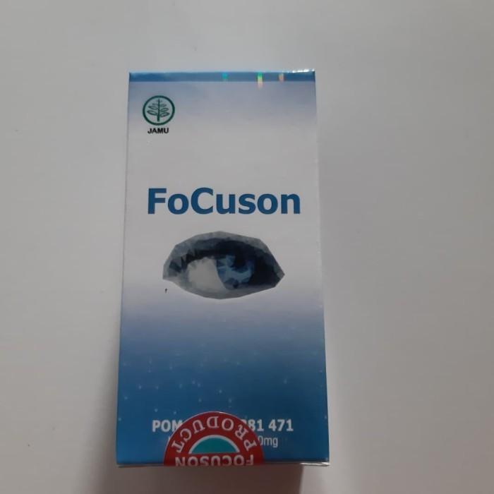 Foto Produk FOCUSON ~ obat mata minus plus silinder dan katarak focuson asli dari griyalina