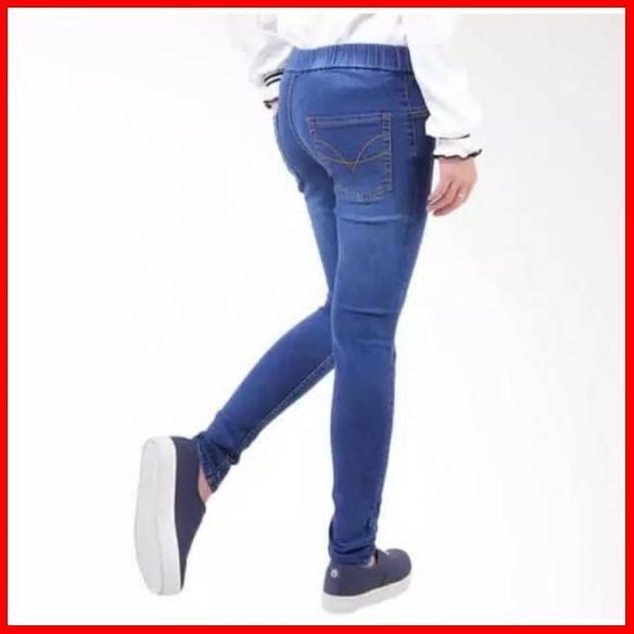 Jual Celana Jeans Legging Pinggang Karet Wanita Jakarta Timur Bambangolshopolshop Tokopedia