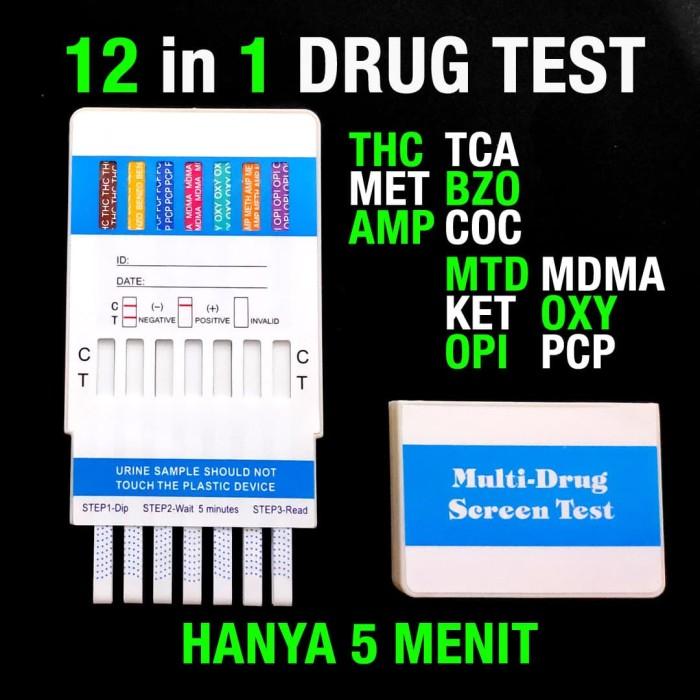 Foto Produk DRUG ABUSE TEST TES NARKOBA-12P ALAT TES URIN URINE BNN CEPAT AKURAT dari Vitina