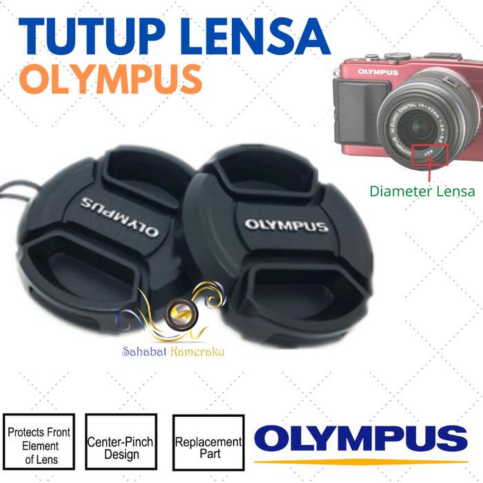 Foto Produk Tutup Lensa / Front Lens Cap Olympus 37mm (dengan tali) dari Danbo shop