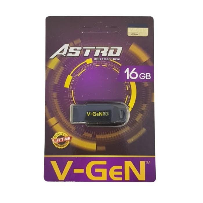 Jual V-Gen Astro USB Flash Drive 16 GB - Kota Bandar
