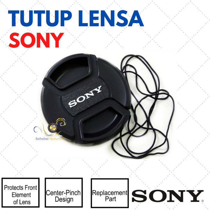 Foto Produk Tutup Lensa / Front Lens Cap Sony ukuran 49 mm (model II) dari Danbo shop