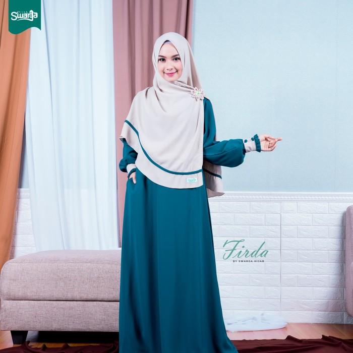 Jual Gamis Firda Emerald By Swarga Hijab Kab Tulungagung Swarga Syari Tokopedia