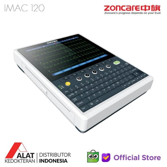 Foto Produk Electrocardiograph Zoncare IMAC 120 High End 12 Channel ECG Machine dari Alat Kedokteran ID