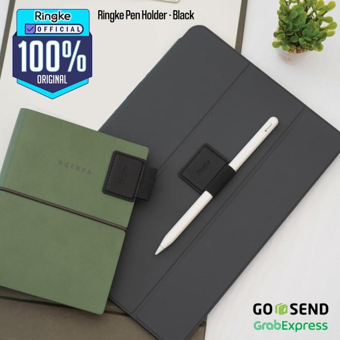 Foto Produk Ringke Apple Pencil Stylus Samsung S Pen Holder iPad Galaxy Tab Black dari Official Ringke Partner