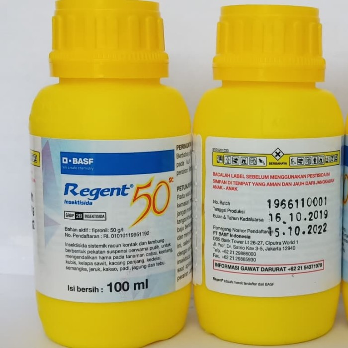 Foto Produk racun semut rayap ulat REGENT 50 sc 100 ml fipronil dan zpt dari New Toko Tani 99