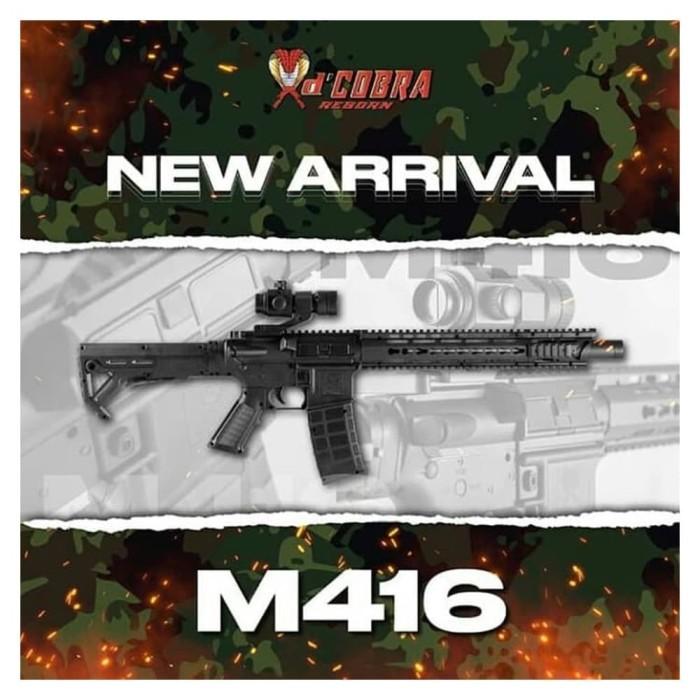 Foto Produk DCOBRA M416 M4 SERIES FULL SET SPRING ABS - DCOBRA M416 dari Edantoys