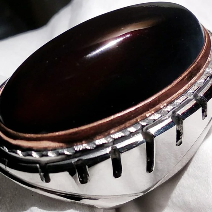 Foto Produk Batu akik Yaman WuLung Api Ready : Ring9 (dim35mm) dari Panah Putra