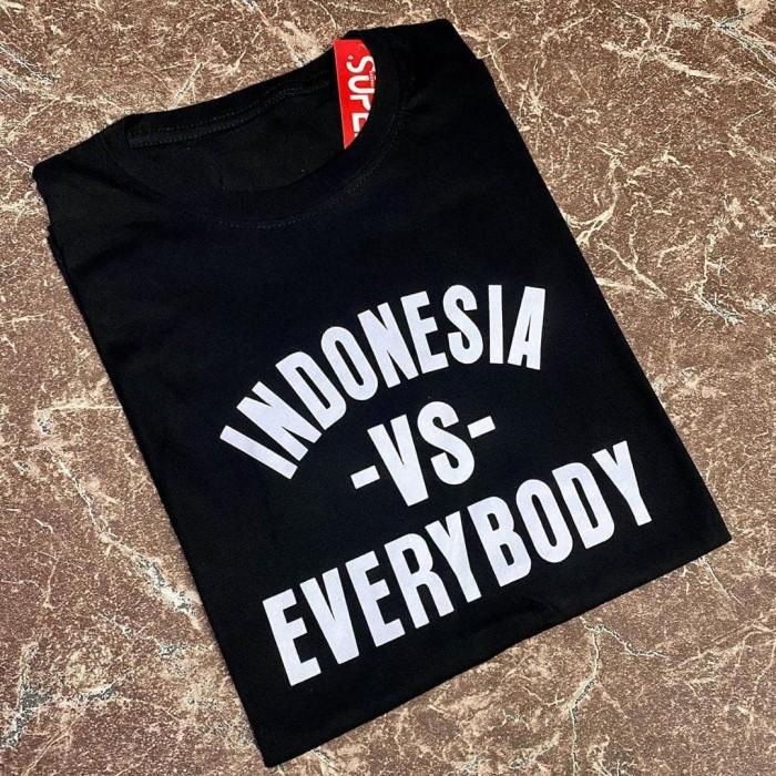 Jual Kaos Distro Pria Indonesia Vs Everybody Black Kaosdistromania Jakarta Utara Distromaniashop Tokopedia