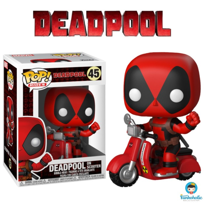 Jual Funko Pop Rides Marvel Deadpool 2 Deadpool On Scooter 48 Jakarta Utara Funkoholic Tokopedia
