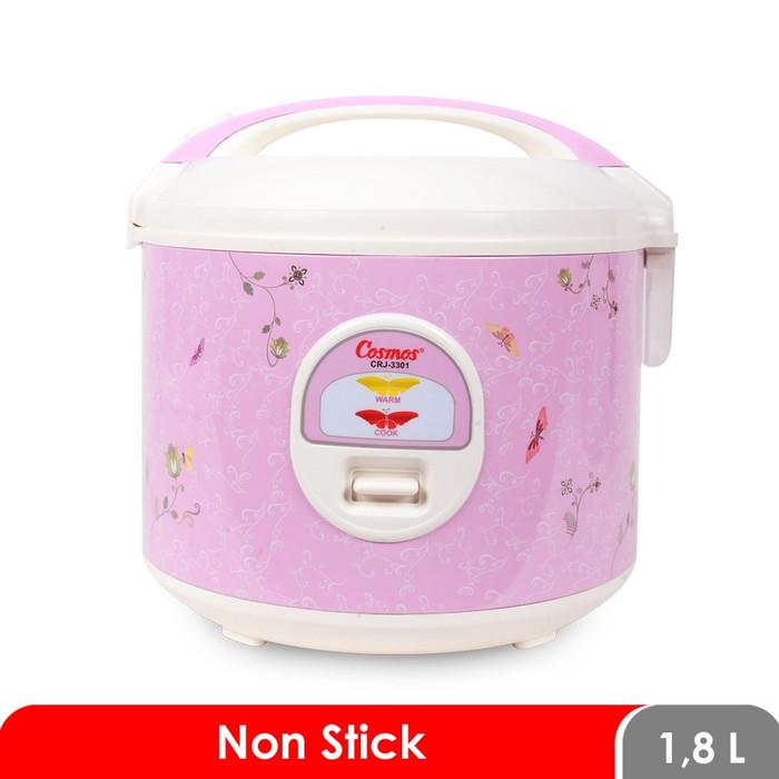 Foto Produk COSMOS Rice Cooker 1.8 Liter CRJ-3301 / Magic Com Pink dari Grosir PGS