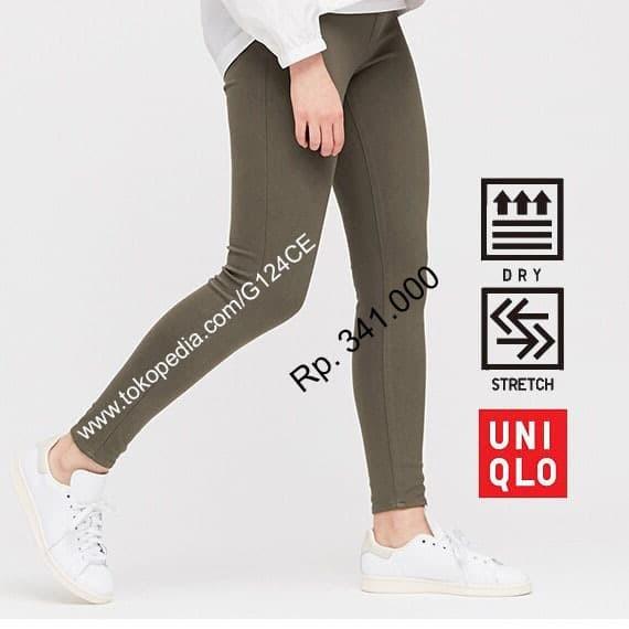 Jual Celana Legging Ultra Stretch Wanita Uniqlo 425345 Hijau Olive 56 Jakarta Barat G124ce Tokopedia