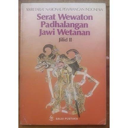 Jual Buku Pakem Pedhalangan Jawa Timuran Kota Magelang Sastro Antik Tokopedia
